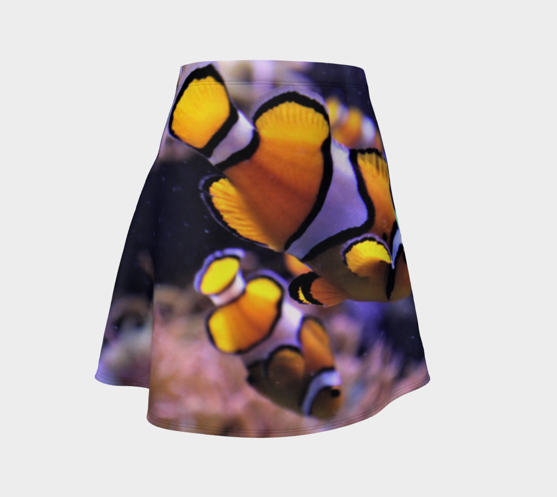 Clown Fish Flared Skirt  preview #1