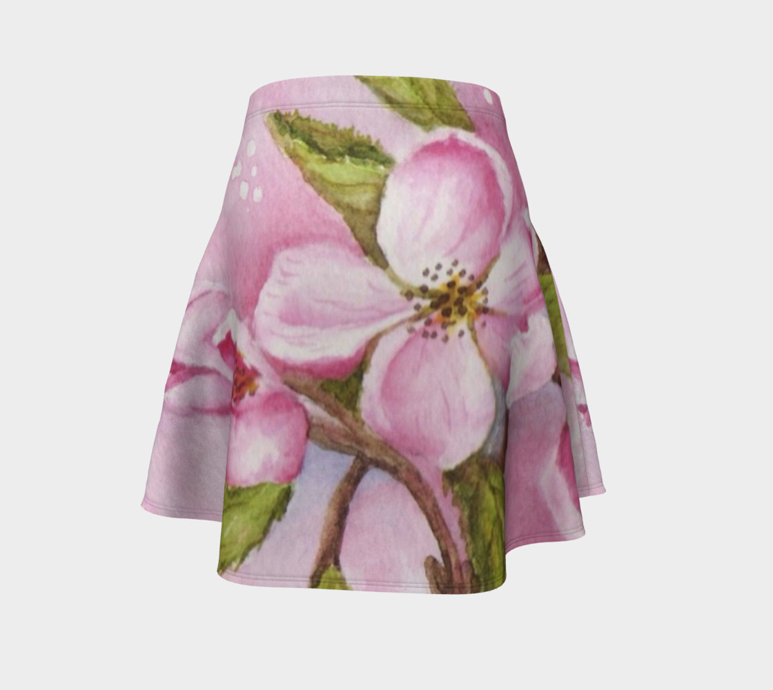 Watercolor Pink Apple Blossoms preview #4