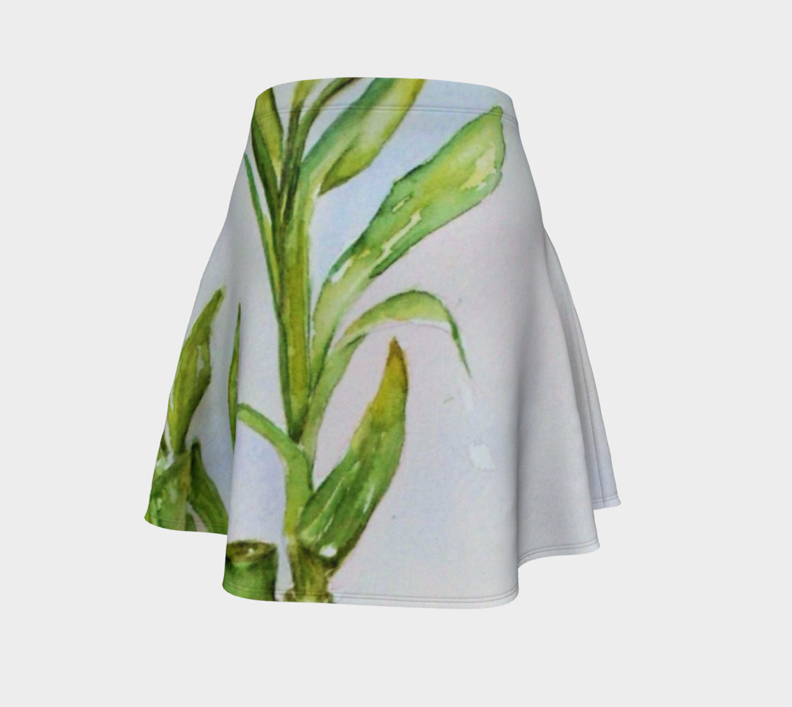 Watercolor Lucky Bamboo Stalk preview #4