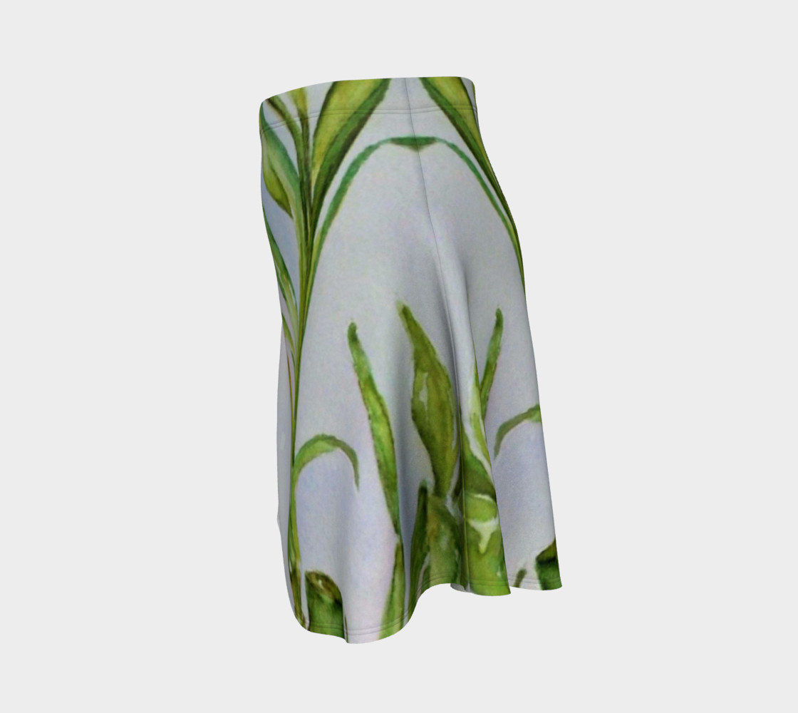 Watercolor Lucky Bamboo Stalk preview #2