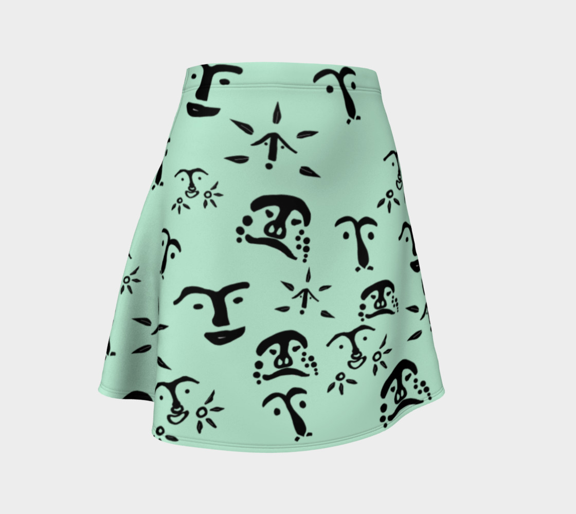 Mint Flare Skirt preview #1