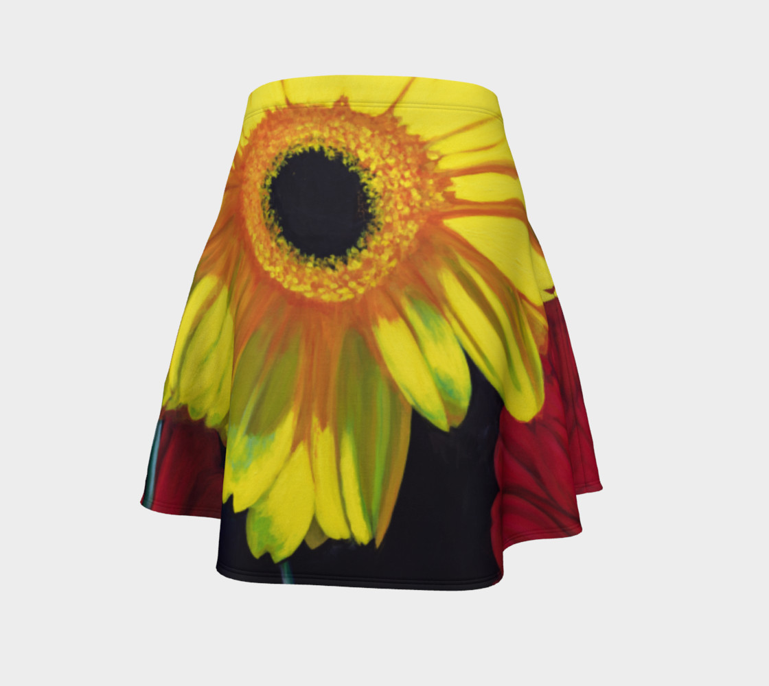 """Aperçu de """"Let There Be Bright"""" Flare Skirt #4"""