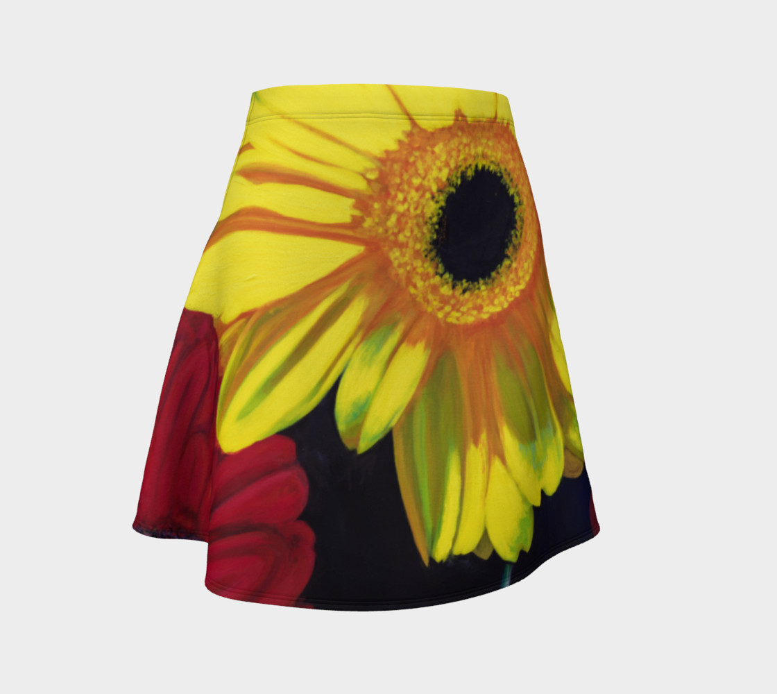 """Aperçu de """"Let There Be Bright"""" Flare Skirt #1"""