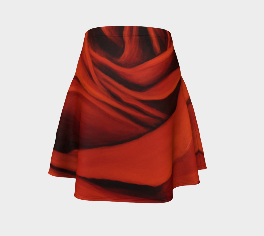 """Seeing Red"" Flare Skirt Miniature #5"
