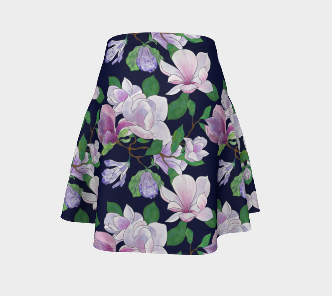 Magnolia Floral Frenzy Flare Skirt preview #4