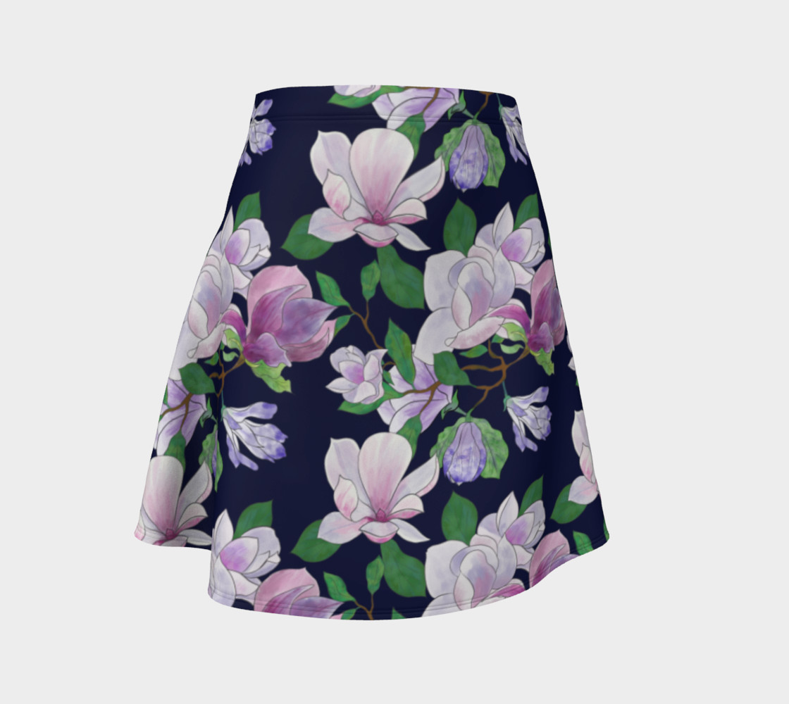 Magnolia Floral Frenzy Flare Skirt preview #1