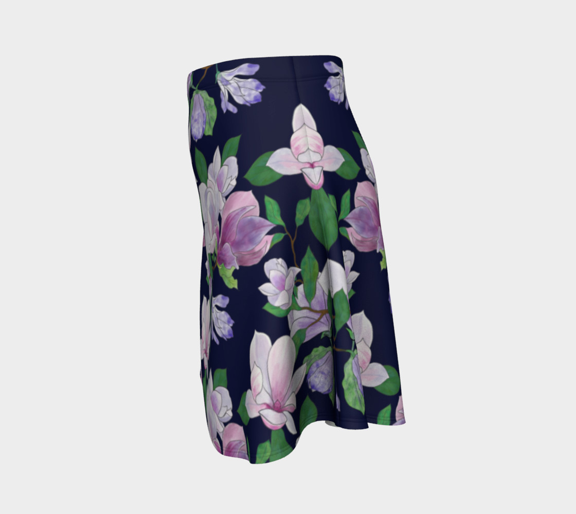 Magnolia Floral Frenzy Flare Skirt preview #2