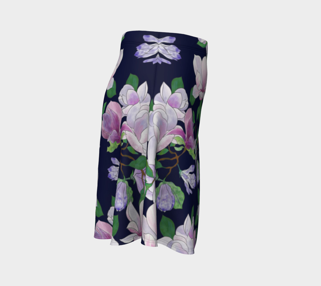 Magnolia Floral Frenzy Flare Skirt preview #3