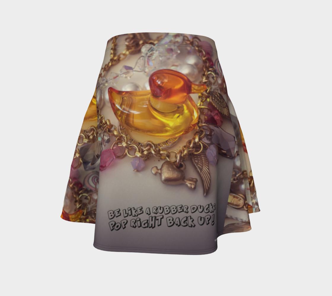 Aperçu de Rubber Duck Flare Skirt #4