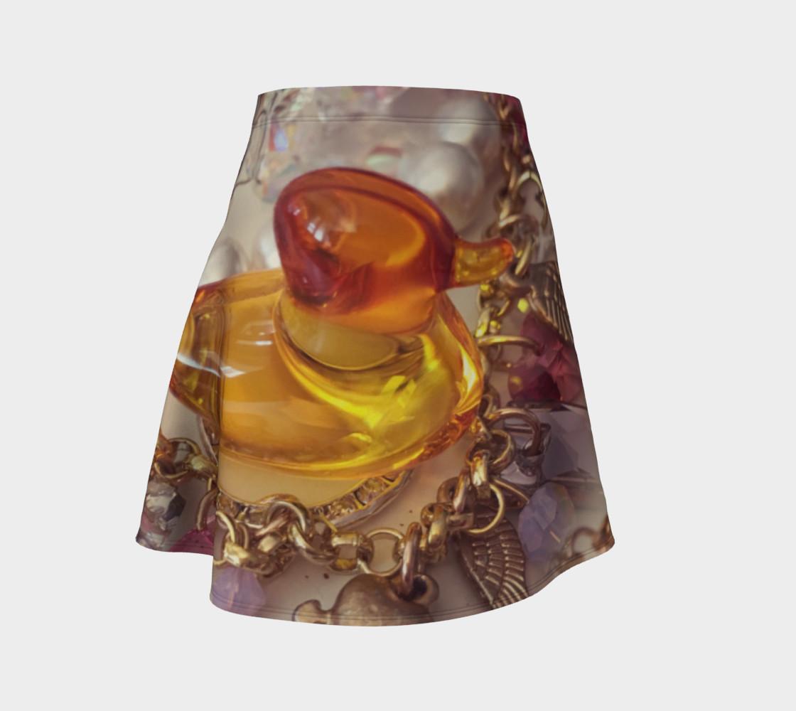 Aperçu de Rubber Duck Flare Skirt #1