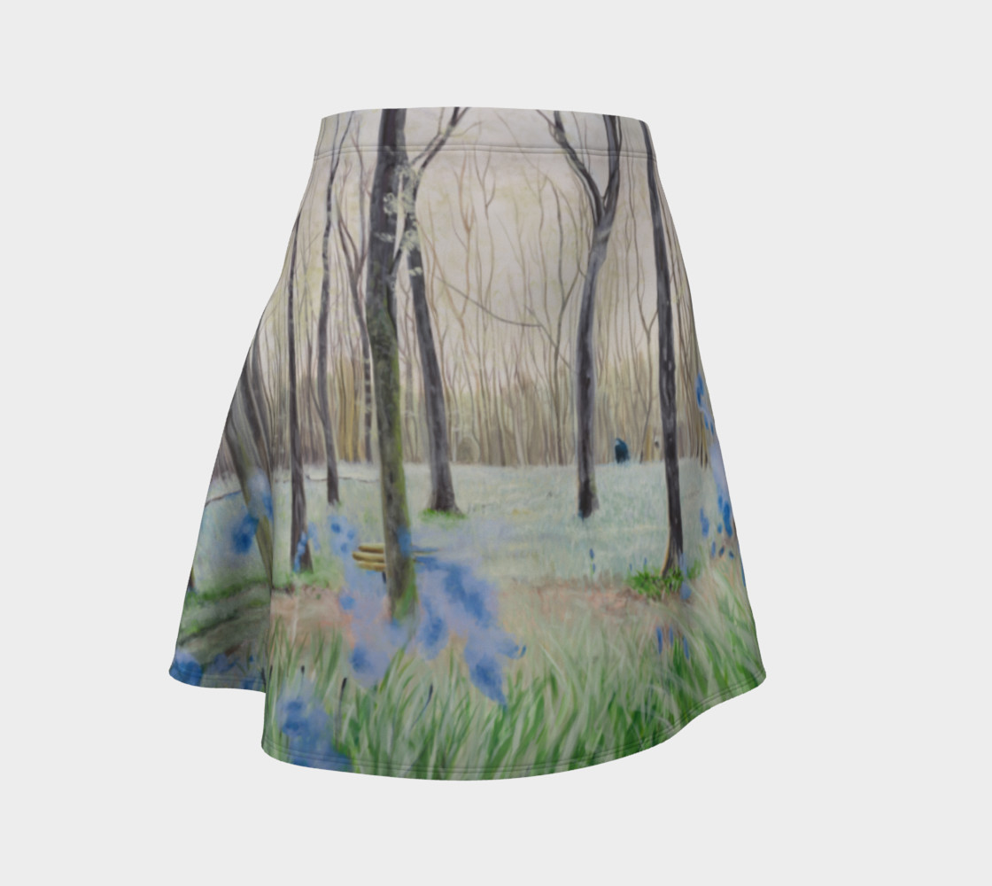 """Peace"" Flare Skirt preview #1"
