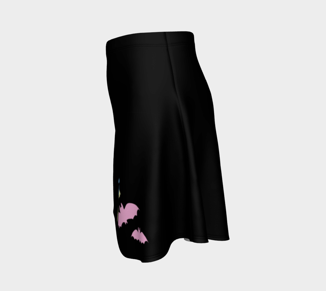 Pan Fruit Bats (Black) Skirt preview #2