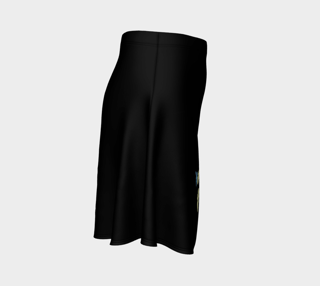 Pan Fruit Bats (Black) Skirt preview #3