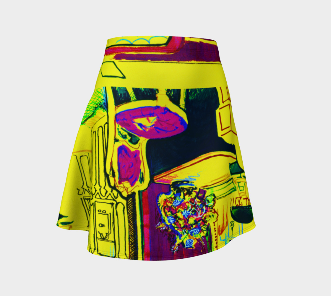 Vacation Yoga Upside-Devin Party Skirt preview #1
