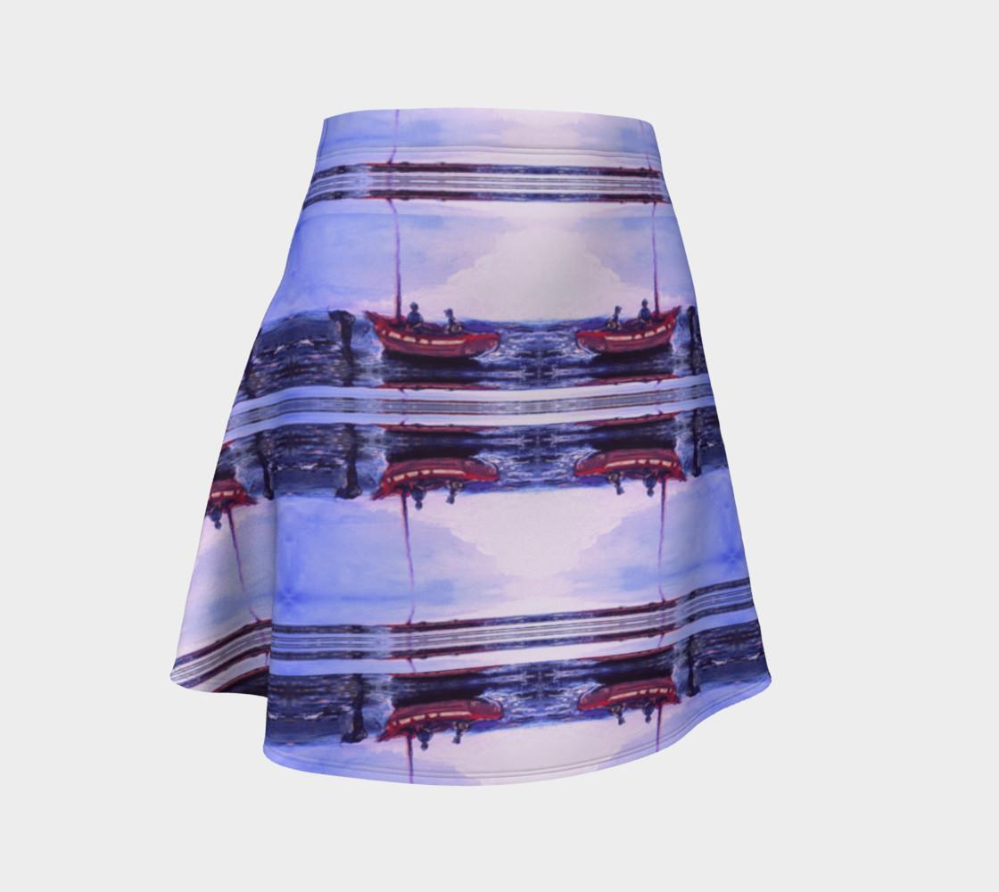 Aperçu de Romantic Elopement Flare Skirt #1