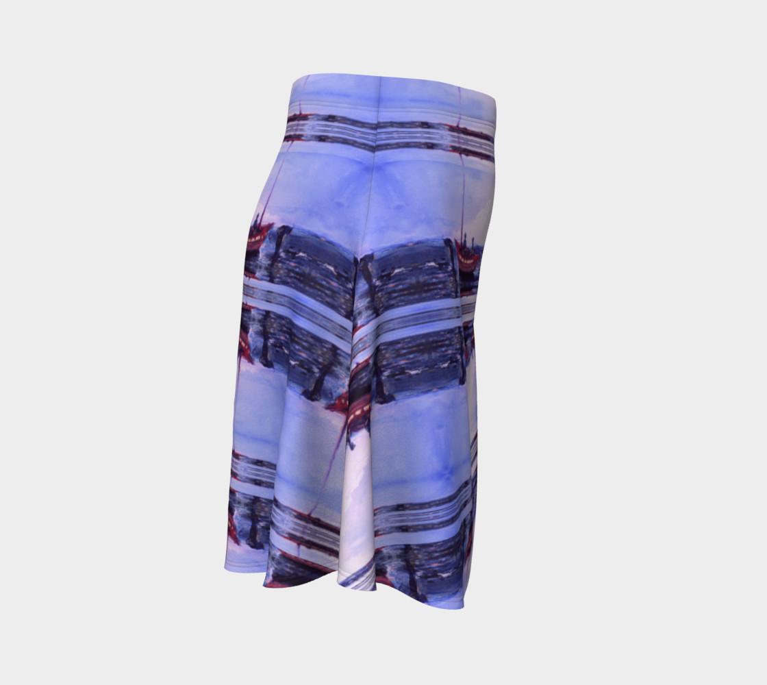 Aperçu de Romantic Elopement Flare Skirt #3