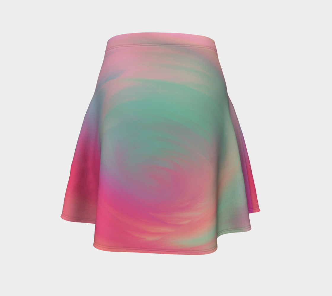 Pastel Perfect Flare Skirt preview #4