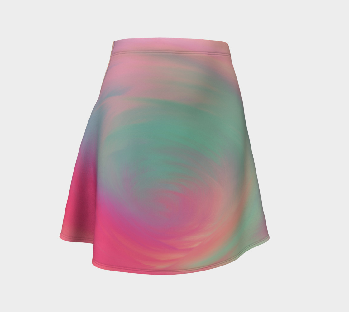 Pastel Perfect Flare Skirt preview #1