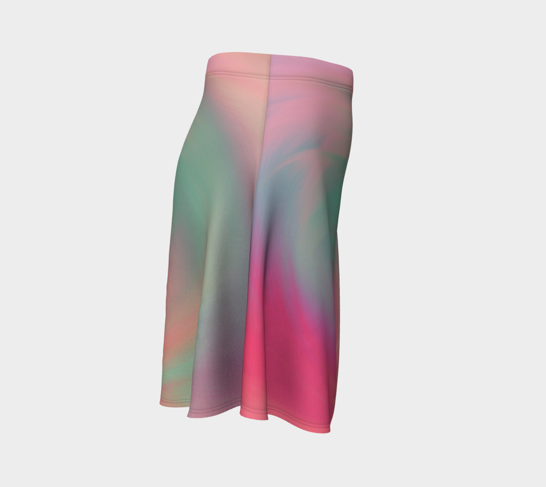 Pastel Perfect Flare Skirt preview #3