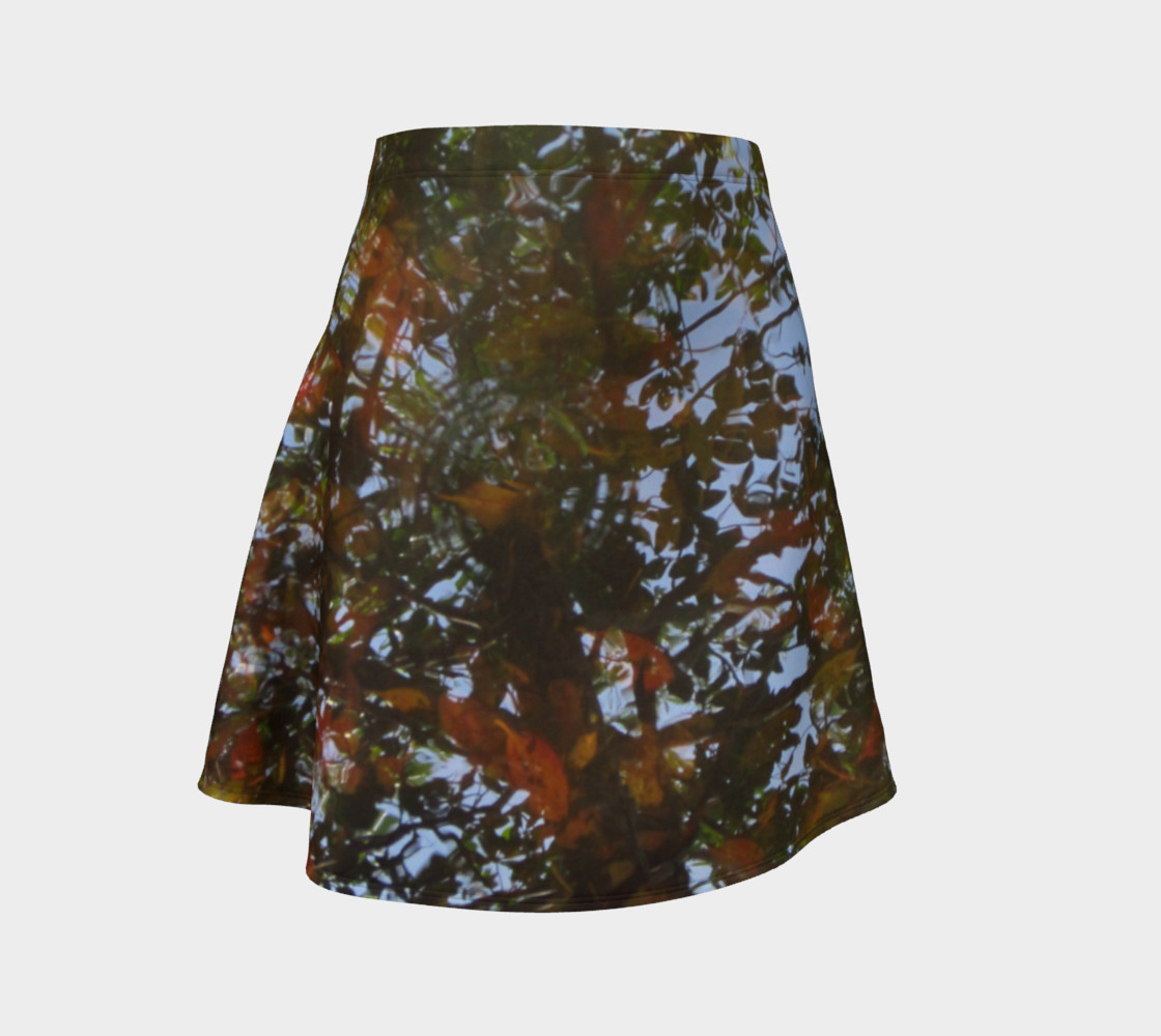 Aqueous Reflections Flare Skirt 1 preview #1