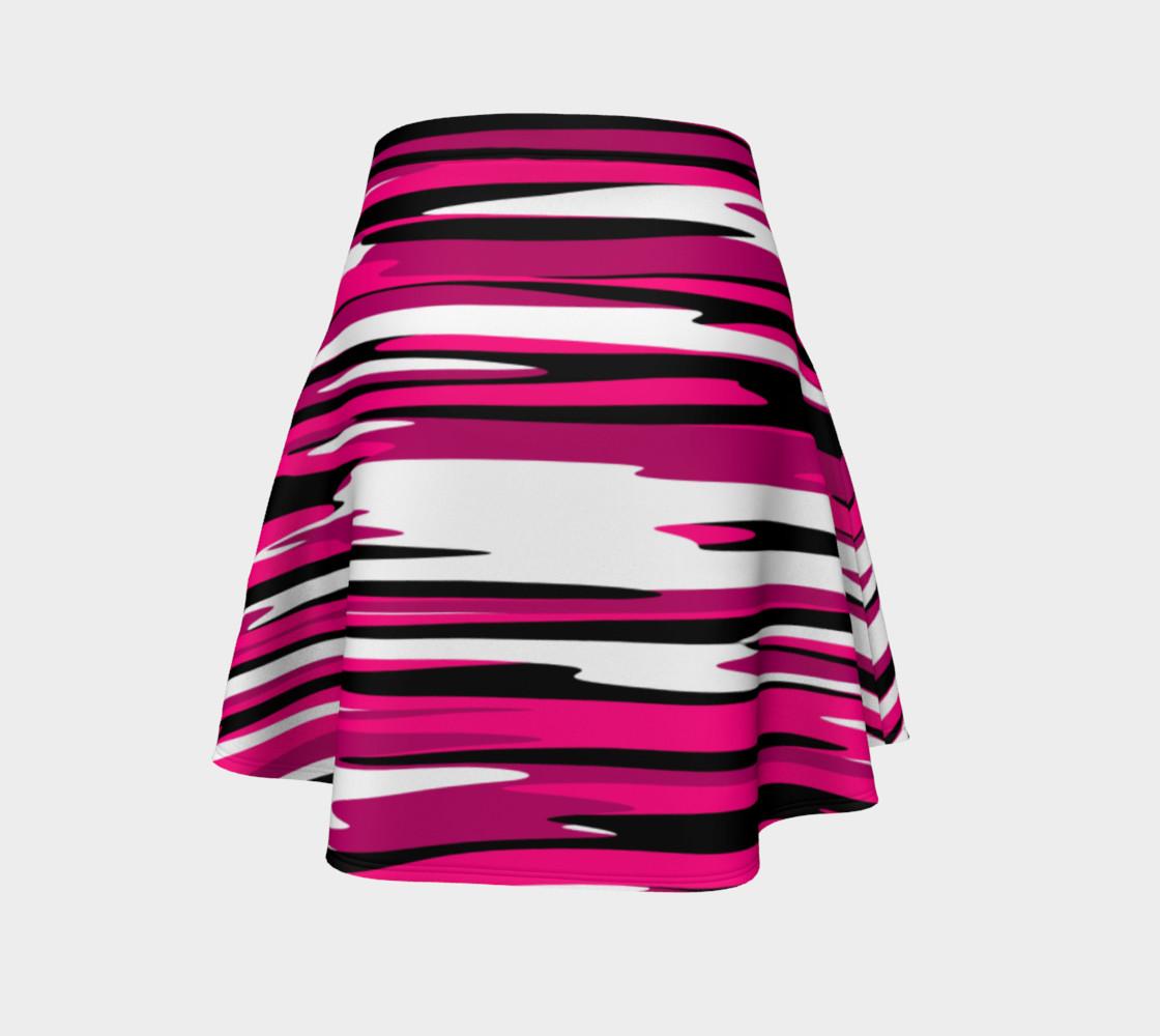 Aperçu de Pink white and black streaks #4
