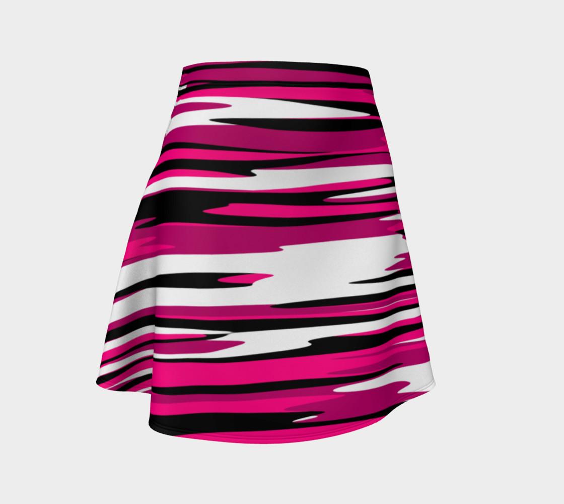 Aperçu de Pink white and black streaks #1