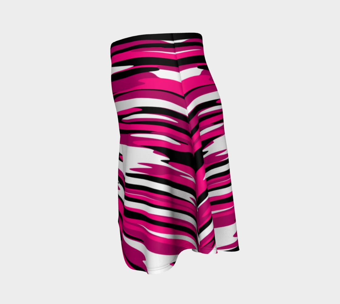Aperçu de Pink white and black streaks #2
