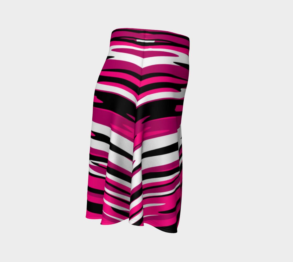 Aperçu de Pink white and black streaks #3