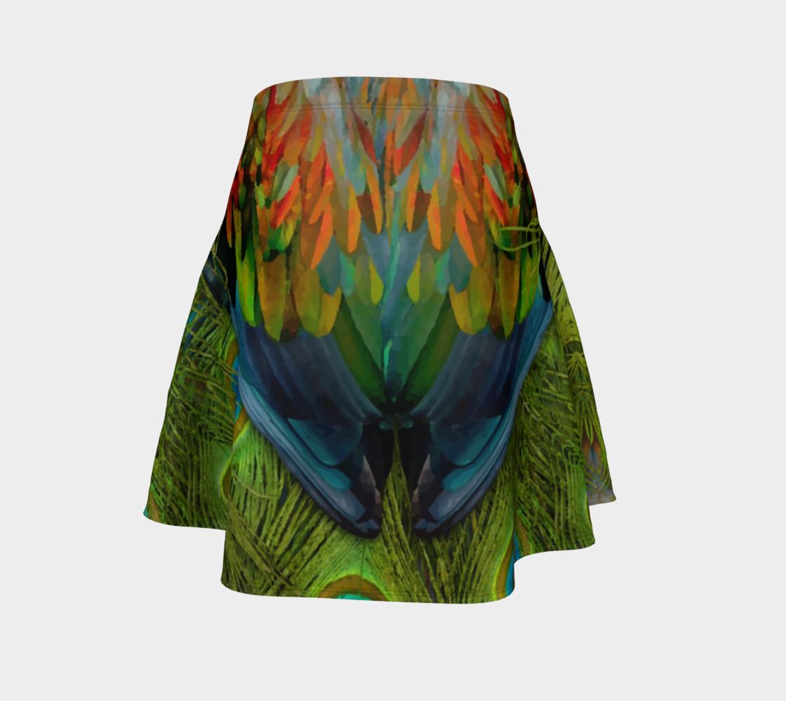 Aperçu de Nicobar-Peacock Fantasy Flare Skirt #4