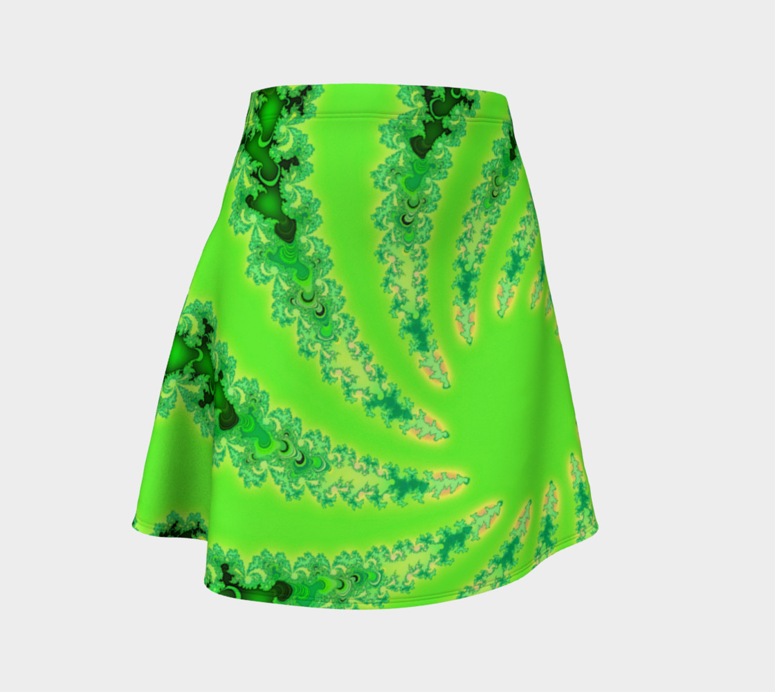 Down the Rabbit Hole Flare Skirt preview #1