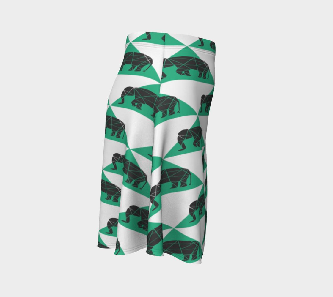 Aperçu de Geometric Elephants Skirt #3