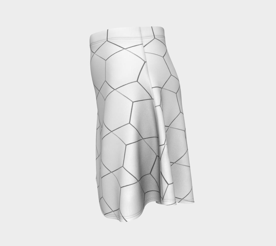 Honeycomb Diamond pattern Flare Skirt preview #2