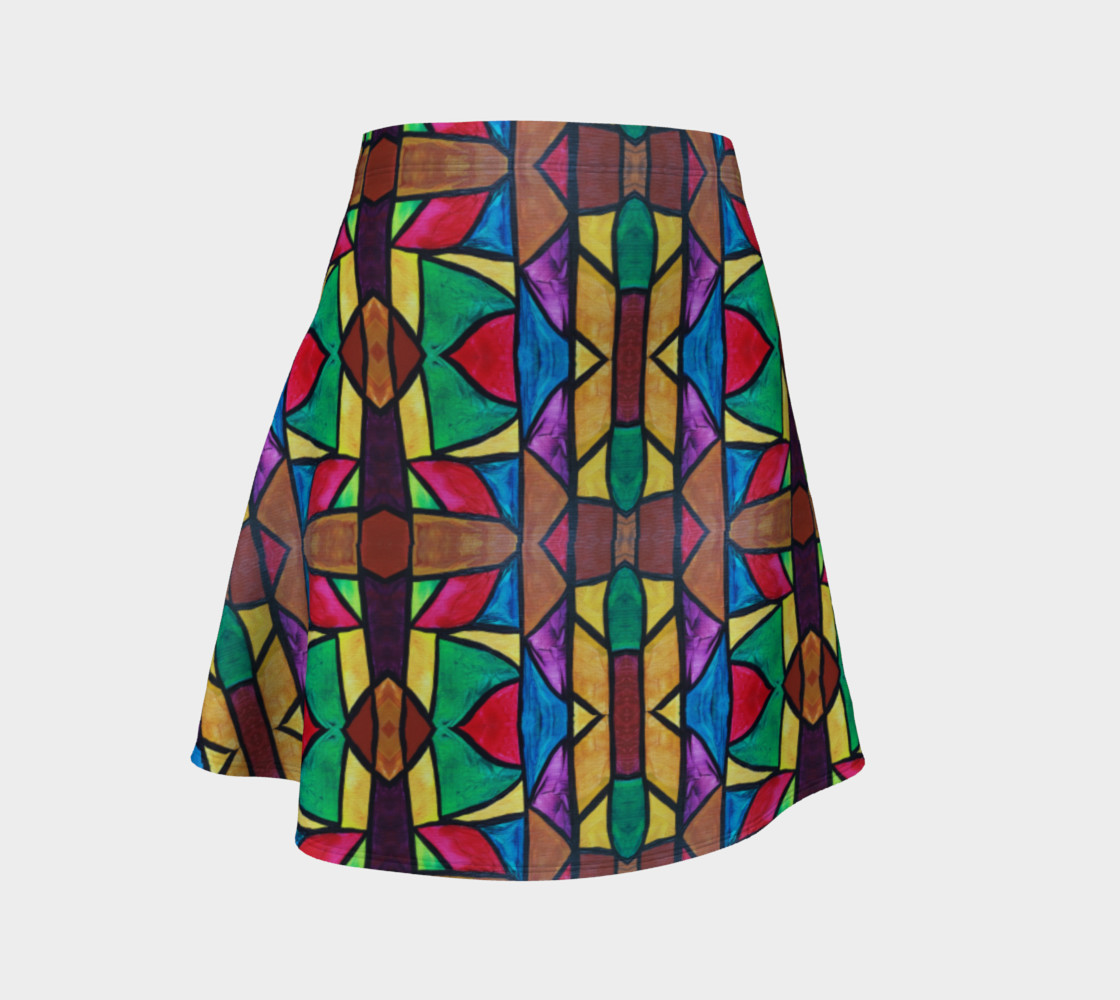 W. Grand Boulevard II Flare Skirt preview #1