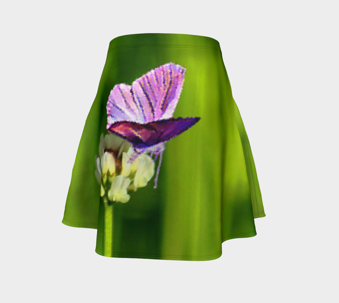 Butterfly on a Flower Skirt preview #4