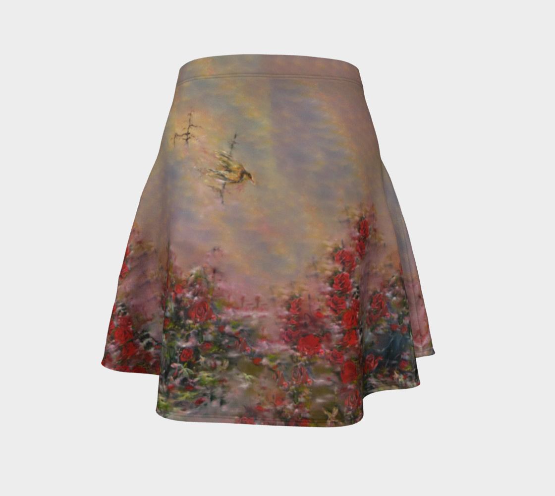 Root Chakra Lover Flare Skirt preview #4