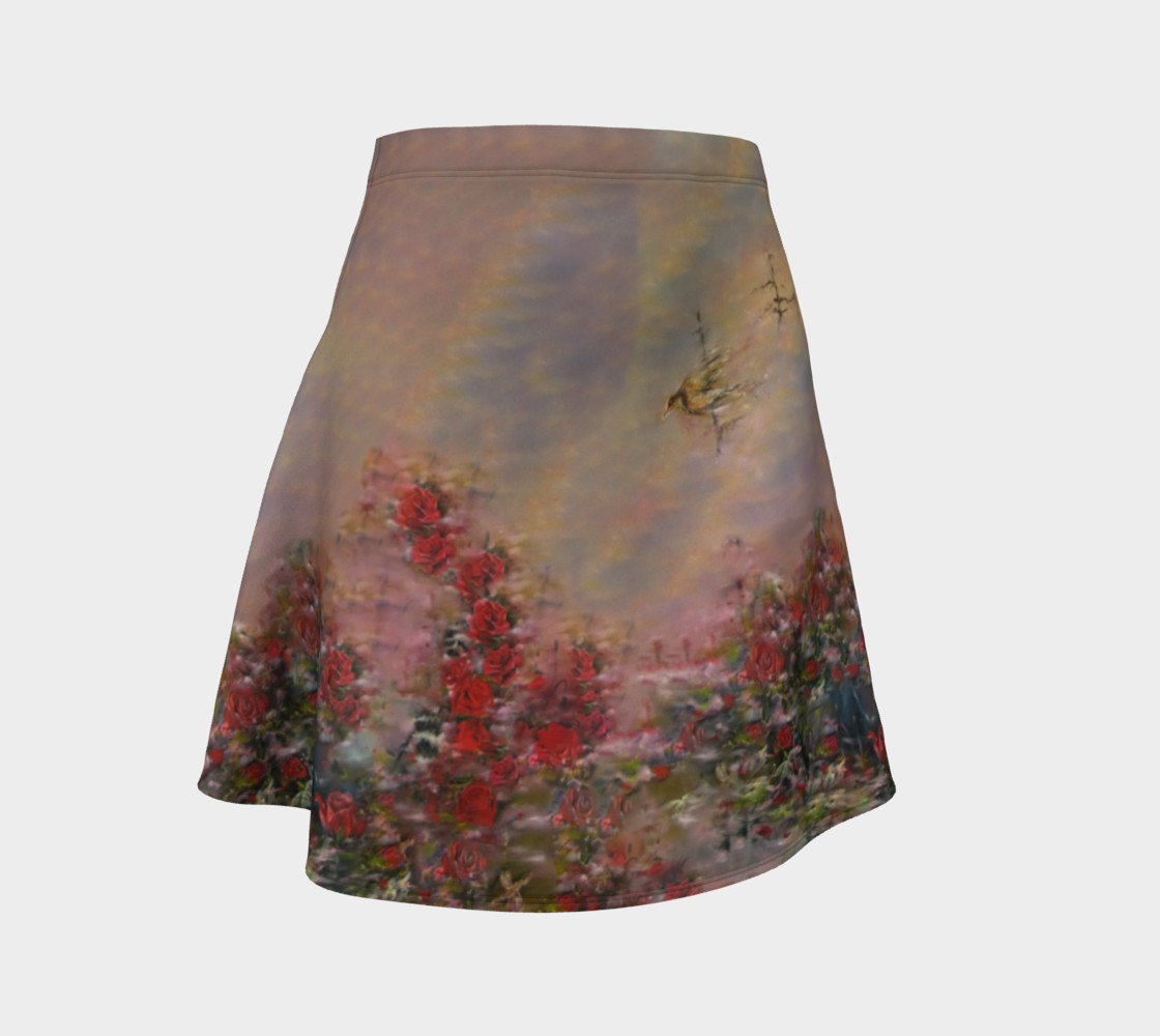 Root Chakra Lover Flare Skirt preview #1