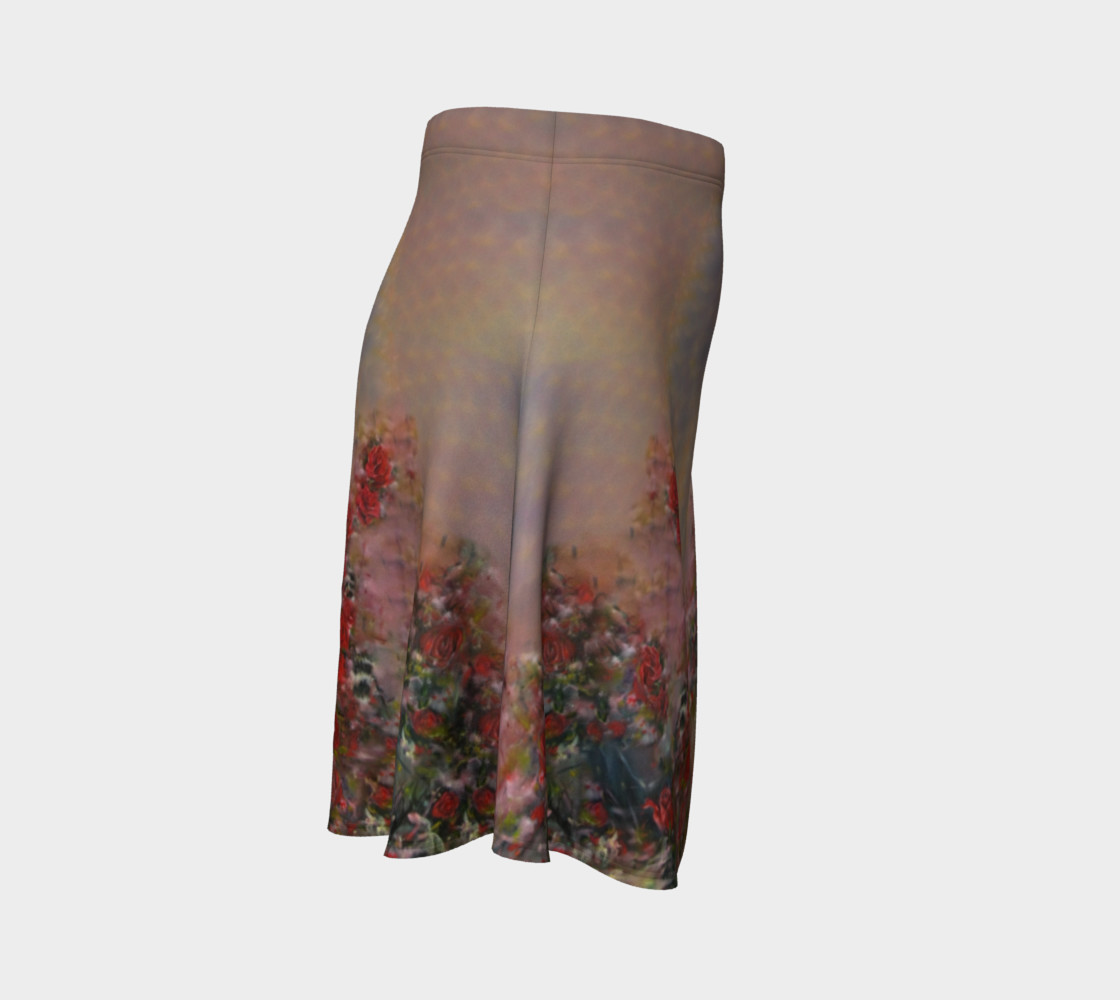 Root Chakra Lover Flare Skirt preview #3