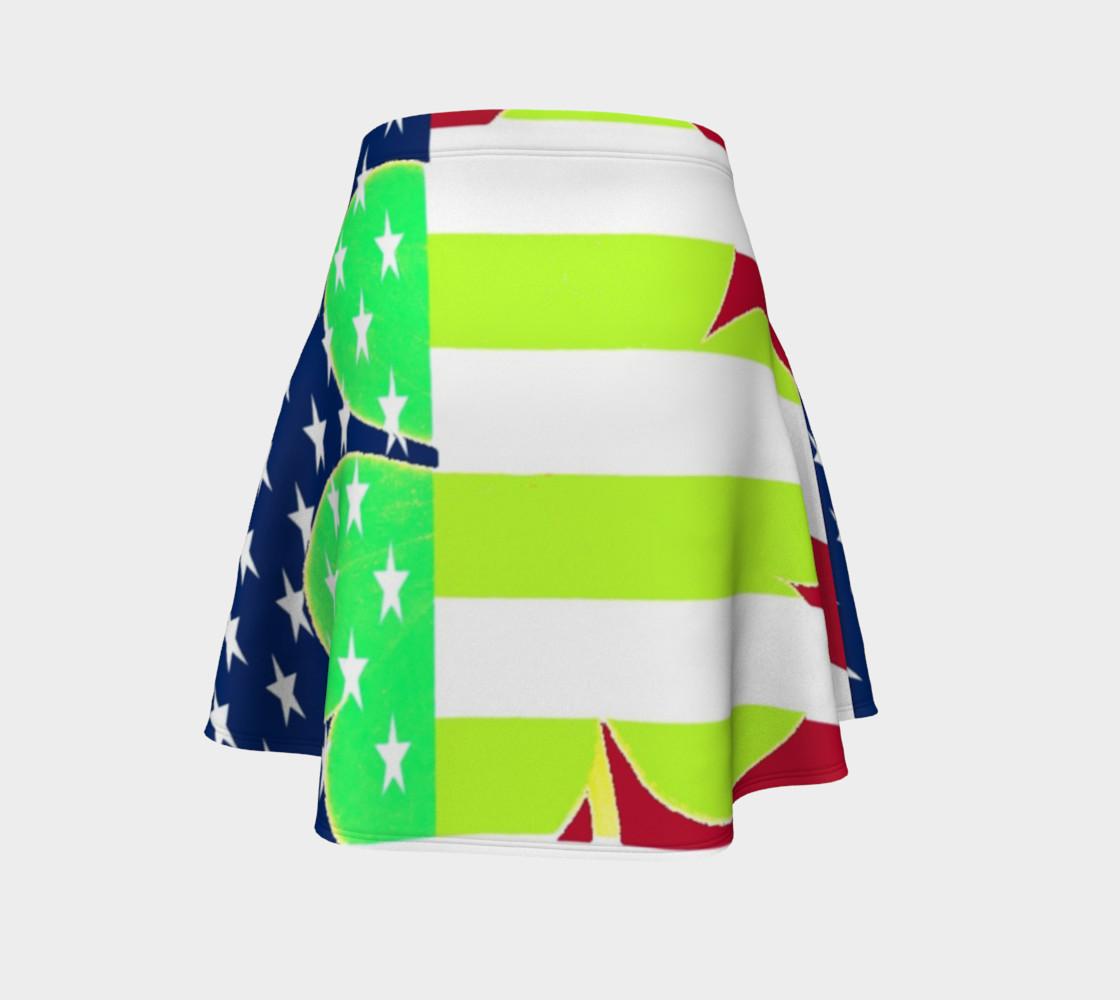 Aperçu de St. Patrick's Day Irish Shamrock Clover American Flag Colors #4