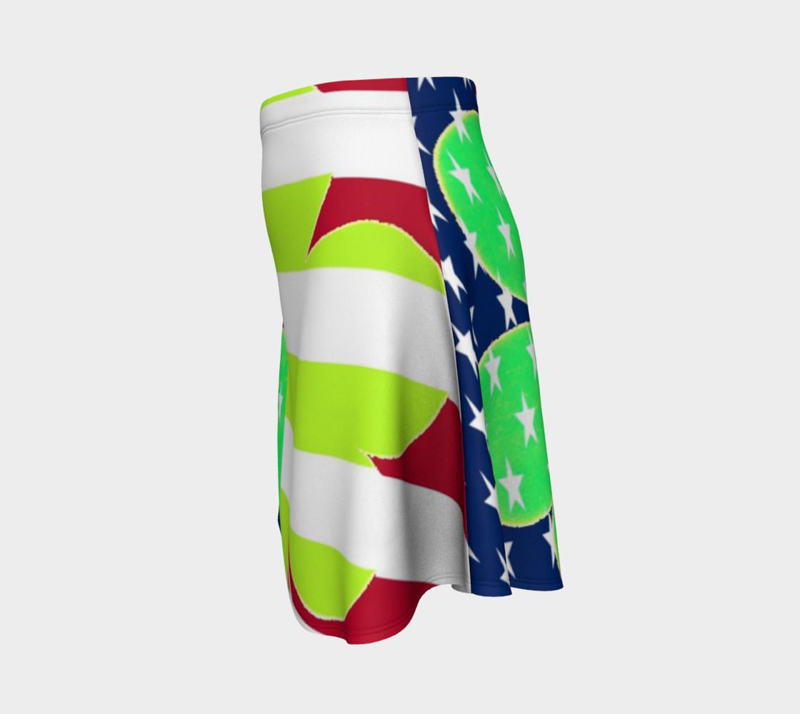 Aperçu de St. Patrick's Day Irish Shamrock Clover American Flag Colors #2