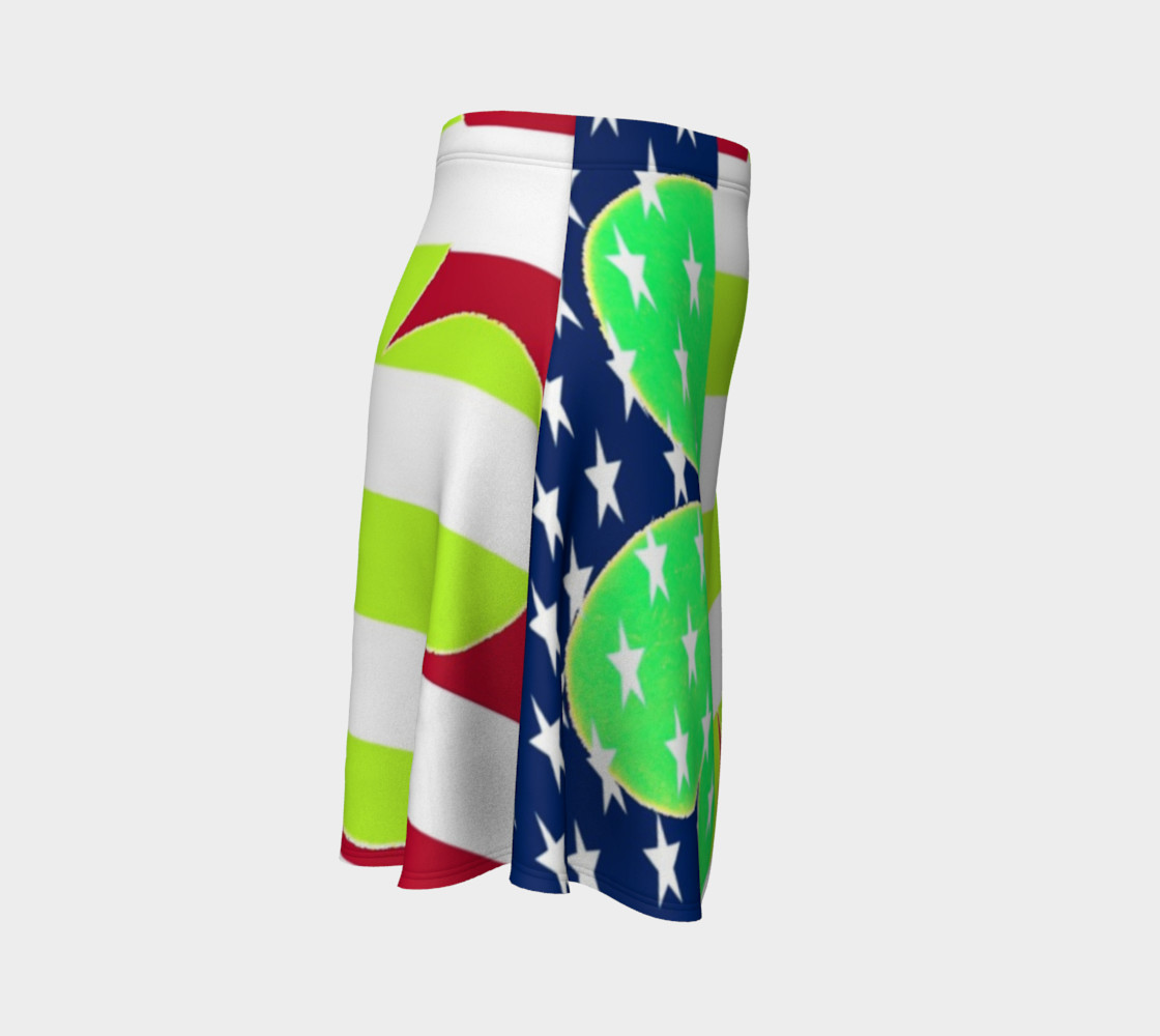 Aperçu de St. Patrick's Day Irish Shamrock Clover American Flag Colors #3