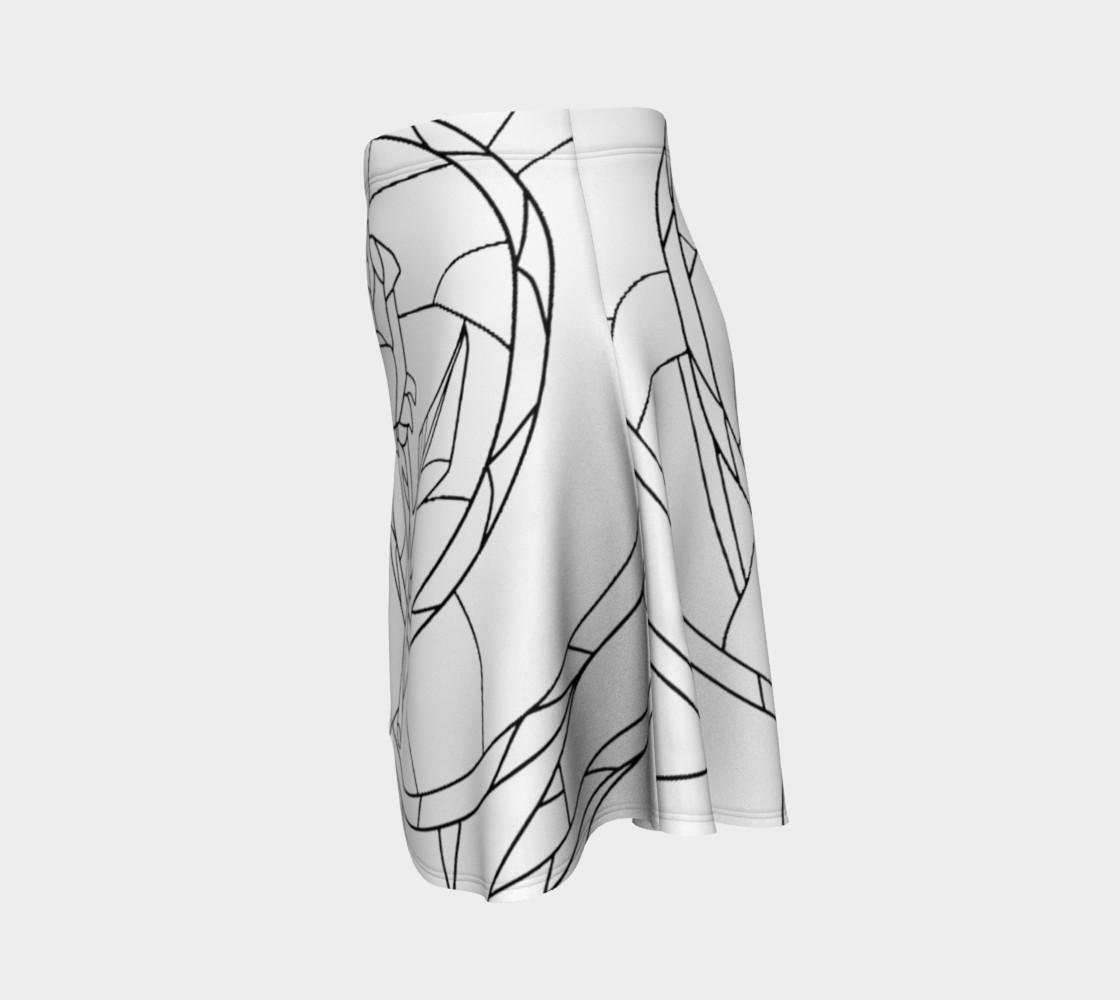 Aperçu de Stained Glass Rose White #2