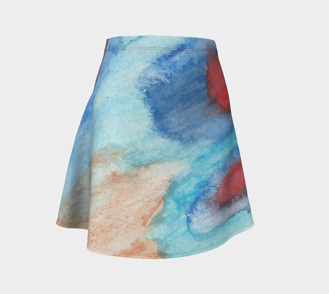 Flowers of Another Kind Flare Skirt preview #1