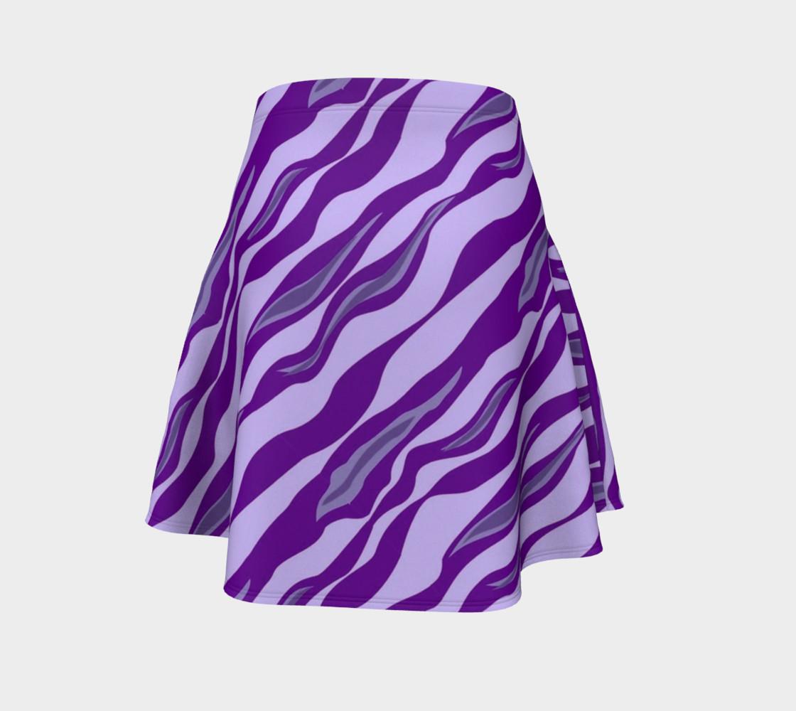 Aperçu de Tiger Stripes - Purple #4