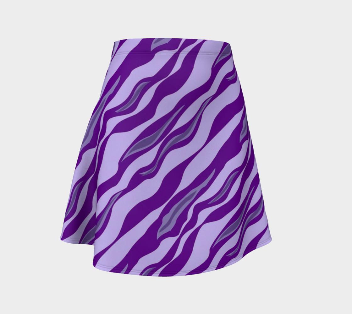 Aperçu de Tiger Stripes - Purple #1