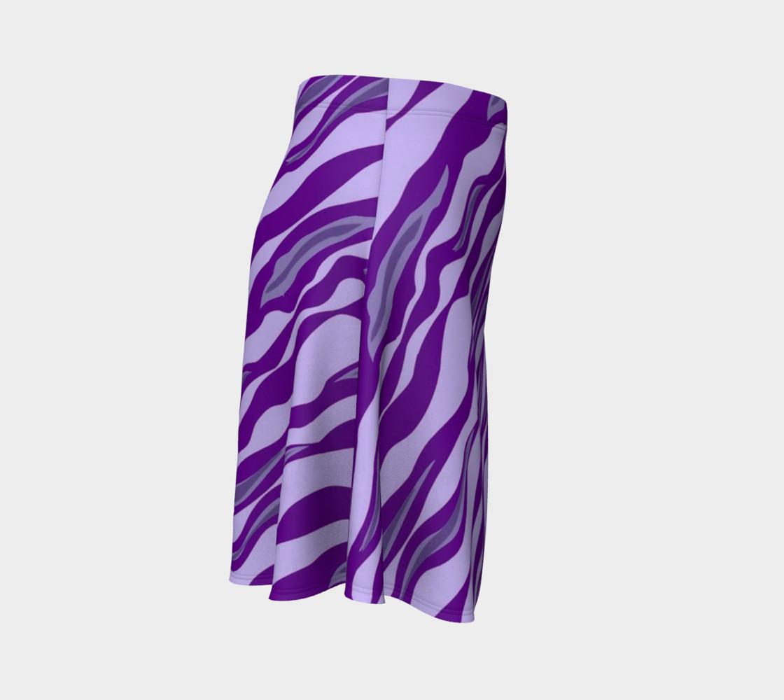 Aperçu de Tiger Stripes - Purple #3