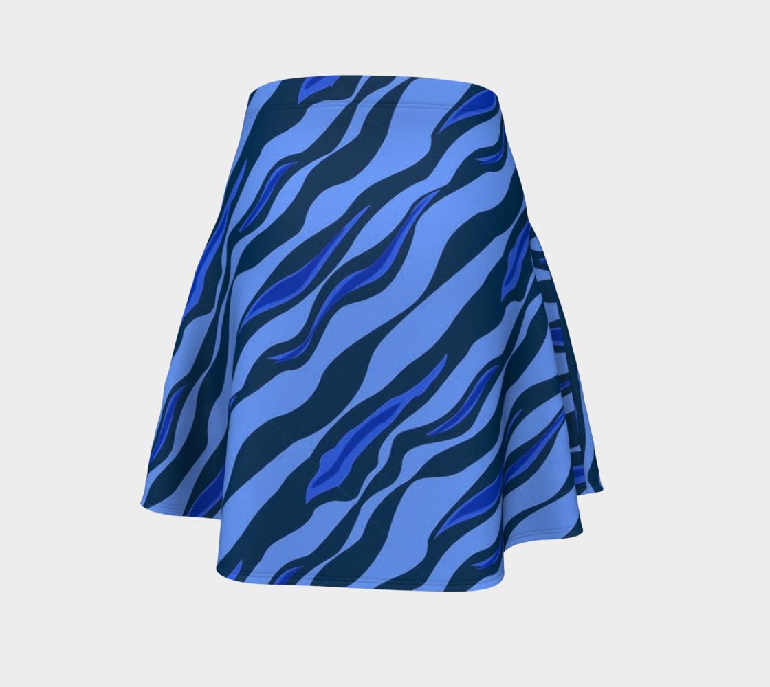 Aperçu de Tiger Stripes Blue #4