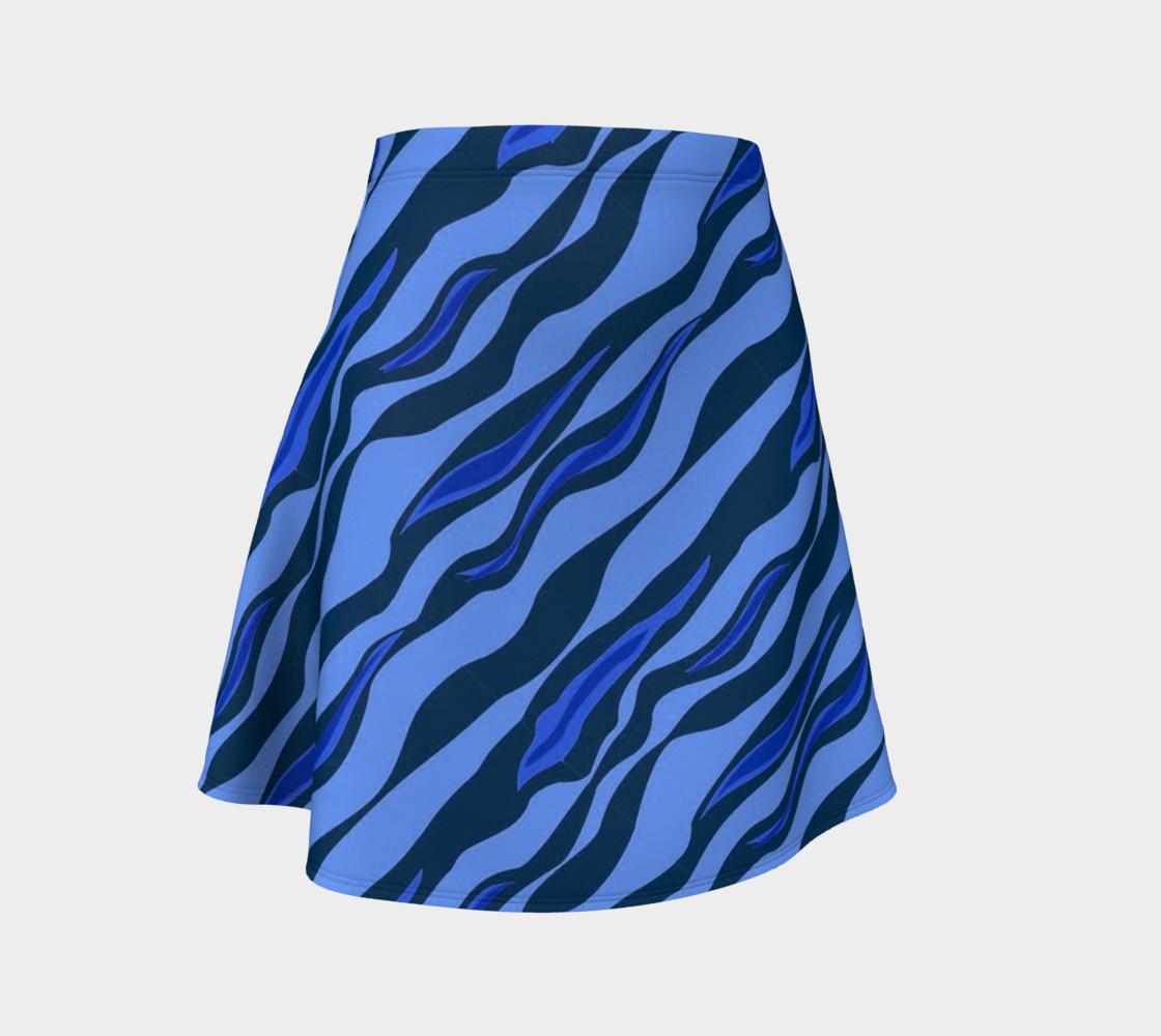 Aperçu de Tiger Stripes Blue #1