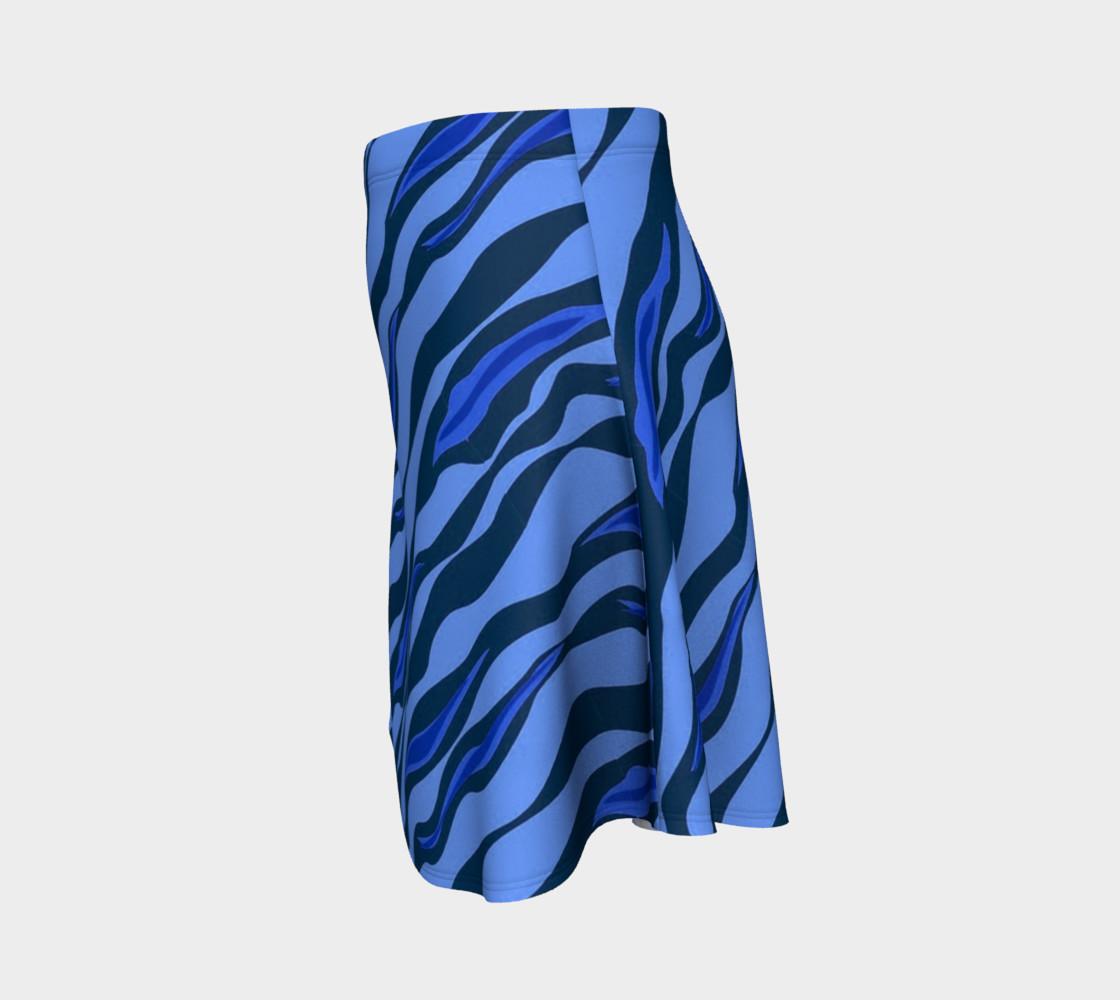 Aperçu de Tiger Stripes Blue #2