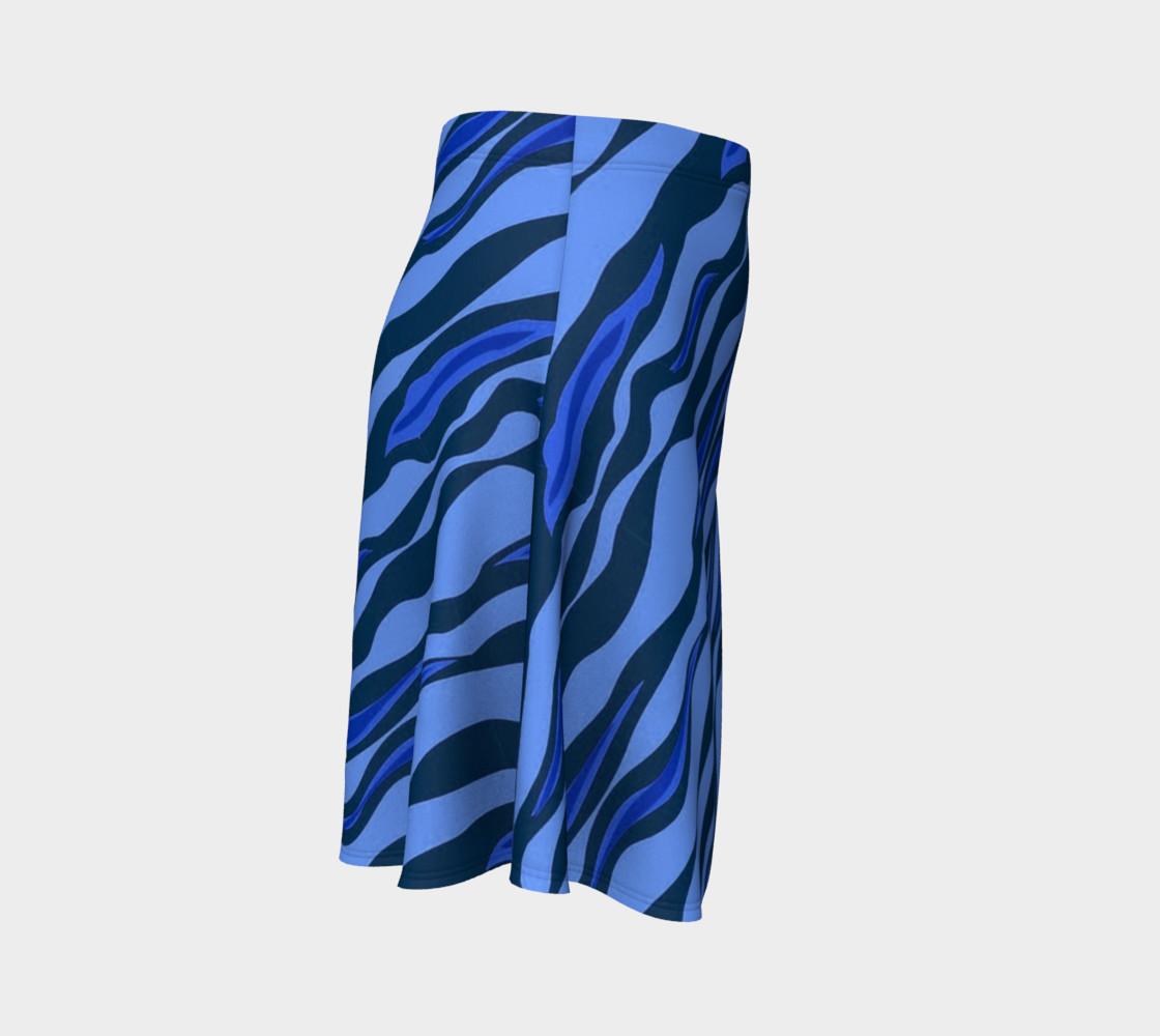 Aperçu de Tiger Stripes Blue #3