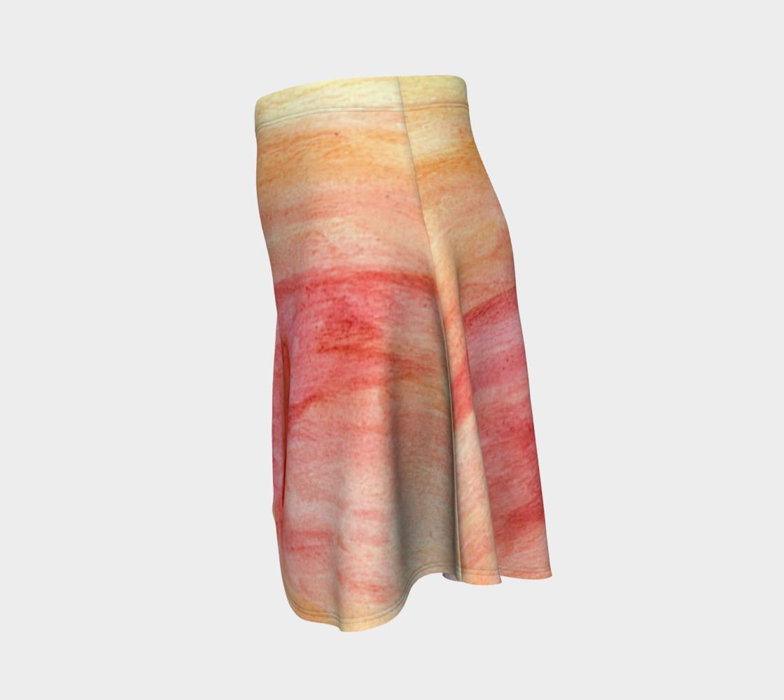 Radiating Heart Flare Skirt preview #2